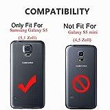 ykooe Galaxy S5 Hülle,S5 Hülle (TPU Series) D...Vergleich