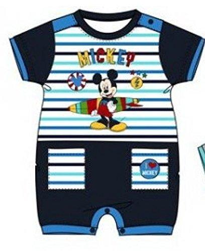 Mickey Mouse - Conjunto Deportivos - para bebé niño Azul Marino 6 Meses