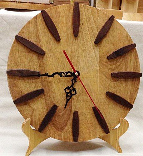 XBR Artesanias de Madera artesanías en Madera de Haya Creativo Reloj Despertador