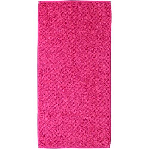 s.Oliver uni Handtuch - Art.: 3500 - Farbe: pink - Größe: 50 x 100 cm