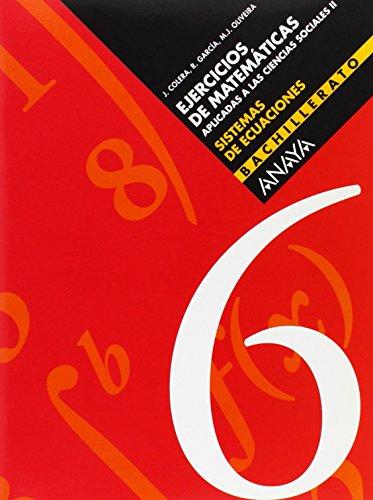 6. Sistemas de ecuaciones - 9788466722209