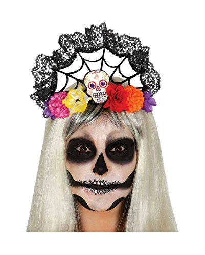 Eleganter Bella Muerte Halloween Haarschmuck Day of The Dead