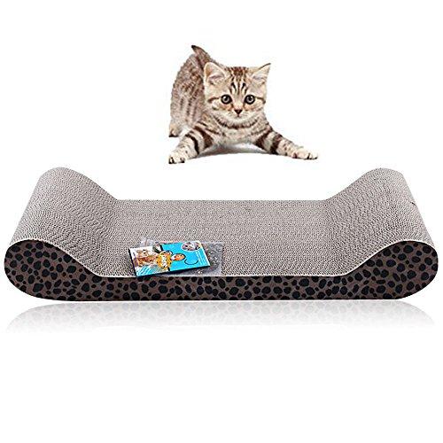 Wellig-stick (efanr Cat Scratch Board Qualität Wellig Papier Bett Sofa Mats Topf Schleifstifte Katze Spielzeug Schützen Cat Paw Möbel Katzenstreu Katzenminze Krallenpflege Board Cat Supplies)