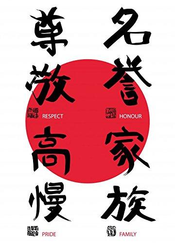 Symbol Des Respekts (1art1 80852 Motivation - Respekt, Ehre, Stolz, Familie, 2-Teilig Fototapete Poster-Tapete 250 x 180 cm)
