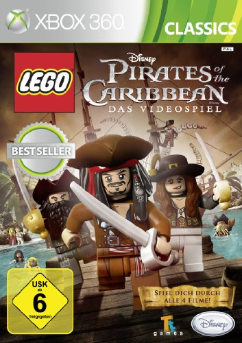 LEGO Pirates of the Caribbean - [Xbox 360] Lego Piraten Spiel