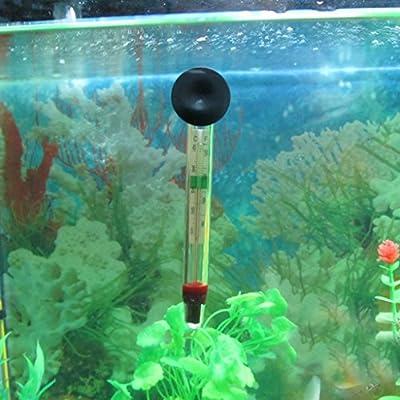 Aquarien Thermometer Tauch Schwimmend TemperaturSpur für Aquarium