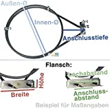 Heizelement Backofen Heißluft 2000 Watt 230 Volt ELECTROLUX 358190736