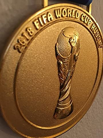 2018 RUSSIA Moscow FIFA World Cup Souvenir Medal Medallion w