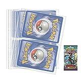 Accessoires pour carte Pokemon Jumbo grand format au choix avec 1 cadeau bonus (Lot de 10 feuilles classeur)