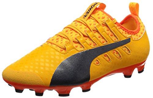 Puma , Chaussures de foot pour homme Ultra jaune - paon - poisson clown orange