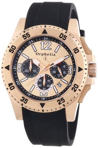 Orphelia OR21690224 - Orologio da polso uomo, silicone, colore: nero