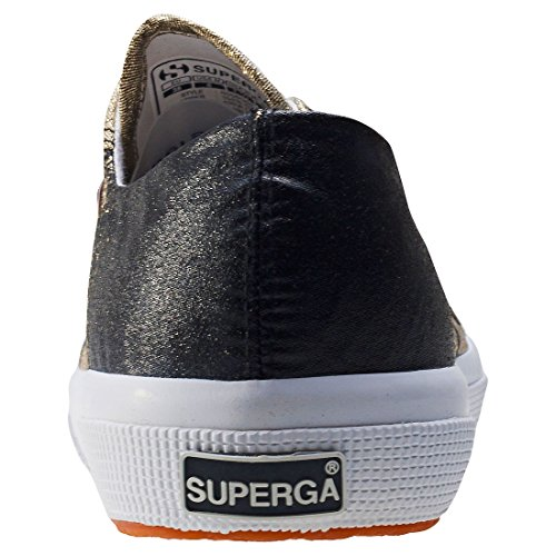 Superga - 2750 Lamedegradew, Scarpe da ginnastica Unisex – Adulto Black (black Gold)