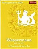 Wassermann Kalender 2020: Ihr Horoskop für jeden Tag