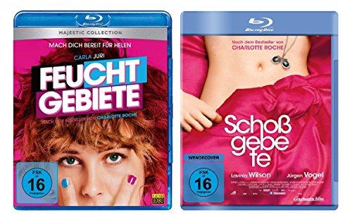Charlotte Roche Doppel-Pack: Feuchtgebiete und Schoßgebete im Set - Deutsche Originalware [2 Blu-rays]