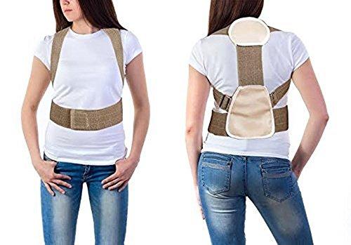 Pflanzstab Schultern Haarband Rücken Wirbelsäule effizient für eine gute Haltung (Hexe Büste)
