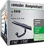 Rameder Komplettsatz, Anhängerkupplung starr + 13pol Elektrik für BMW 5 (142639-01449-1)