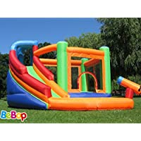 BeBopSpin Combo Large Bouncy Castle and Water Slide