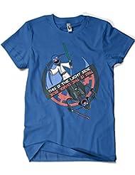 1588-Camiseta Star Wars - Light Side- Dark Side (Legendary P,)