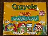 Crayola Games Crayola Opoly