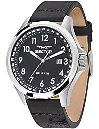 Sector Herren - Armbanduhr 180 Analog Quarz Leder R3251180004