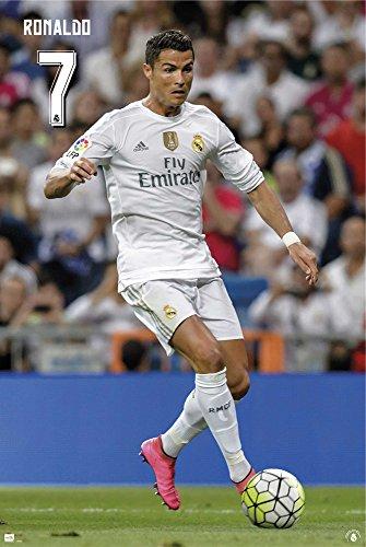 empireposter 732309calcio-Real Madrid-Cristiano Ronaldo CR72015/2016calcio Sport poster, 61x 91,5cm, carta, multicolore, 91,5x 61x 0,14cm