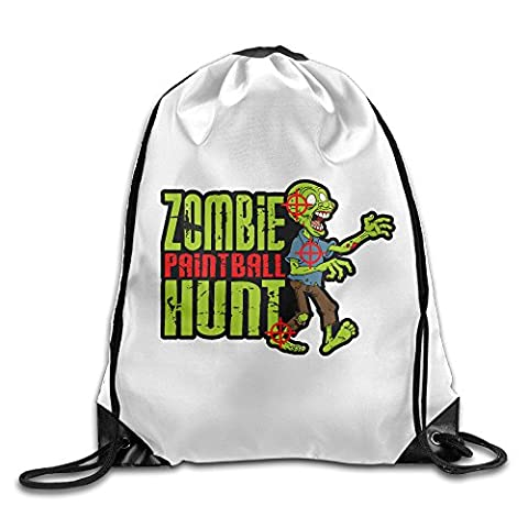 Ifree Zombie Hunt Sac à cordon PE Gym kit d'école Sport Sac à dos
