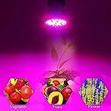 Esbaybulbs Led Grow Light Bulbs,Full Spectrum Grow Lamp,E27 28W LED Grow Lights,Professional for Seedling Growing Blooming Fruiting (4 Pack) Bild 7