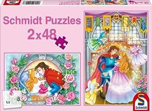 Schmidt Spiele 55447  - La Bella Durmiente, Rompecabezas Rompecabezas Pedazo 2x48
