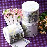 Wllenen 6 Rotoli Di Euro 100 Carta Igienica Dollaro Asciugamano Di Carta Stampa Creativa Bellezza Denaro Moneta Rotolo Di Carta Stampa Di Personalità Web