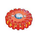 ProPlus 540322- Linterna de emergencia intermitente (16 luces LED, 9,5 cm de diámetro, magnética)