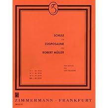 Schule für Zugposaune: kplt.. Posaune (Zugposaune). (Rote-Schulen)