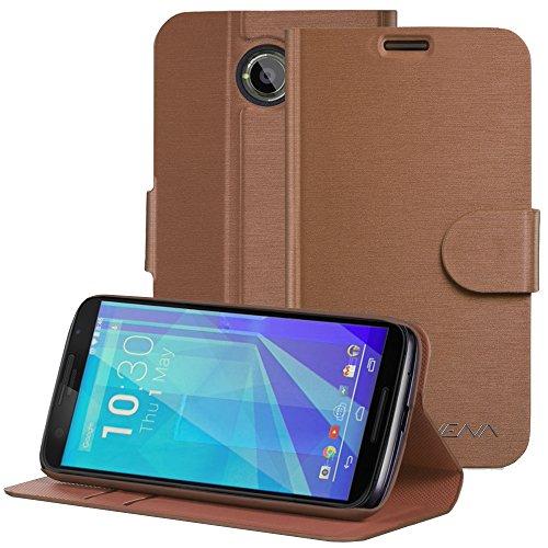 Fosmon Technology Vena Google Nexus 6Wallet Fall (vsuit) Zeichnen Bench PU Leder Brieftasche Flip Ständer Schutzhülle mit (Karte Taschen) für Motorola Google Nexus 6