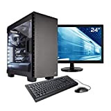 Sedatech Pack PC Professionnel Watercooling Intel i9-9980XE 18x 3.0Ghz, Quadro RTX 5000 16Go, 64Go RAM DDR4, 1To SSD NVMe 970 Evo, 3To HDD, USB 3.1. Unité Centrale, Moniteur, Clavier/Souris, Win 10