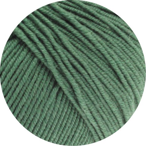 Lana Grossa Cool Wool Fb. 2021 dunkles Graugrün 50g