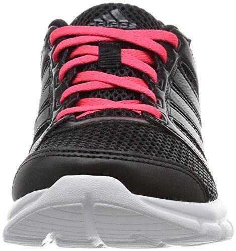adidas Breeze 101 2 W, Running femme Multicolore - mehrfarbig (Cblack/Ngtmet/Shored)