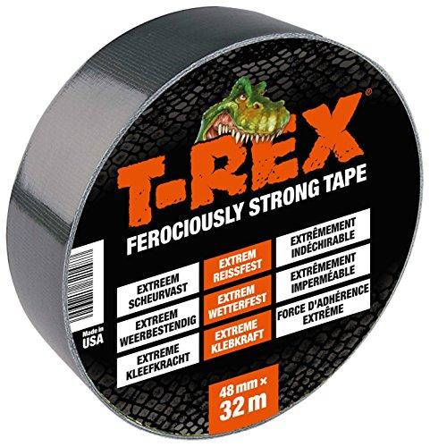 T-Rex Tape - das extra starke und dicke Panzertape 48mm x 32 m Gewebeband für jedes Wetter