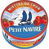 Petit Navire miettes de thon à la tomate 1/5 160g - ( Prix Unitaire ) - Envoi Rapide Et Soignée