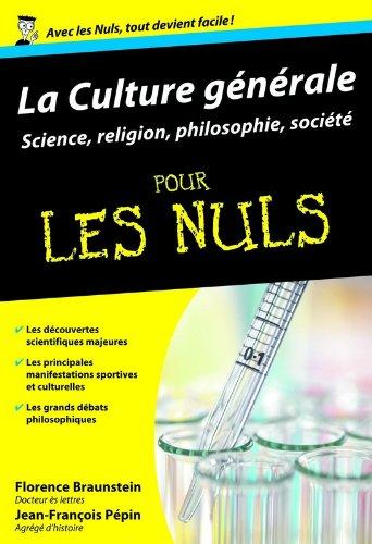 Culture gnrale Poche Pour les nuls Tome 2 : sciences, sports, loisirs et spiritualit (02)