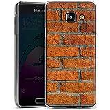 Samsung Galaxy A3 (2016) Housse Étui Protection Coque Brique Mur Pierre