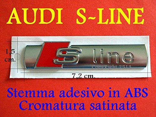 audi-s-line-sline-a1-a2-a3-a4-a5-a6-tt-s-stemma-laterale-badge-fregio-logo