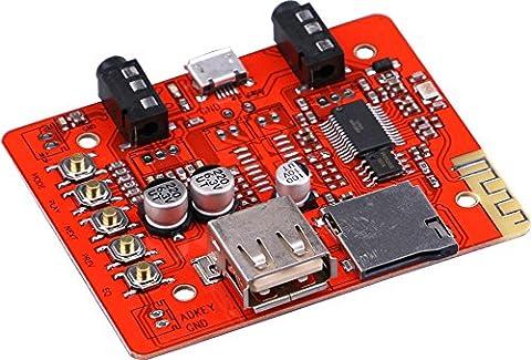 Yeeco Récepteur Audio Bluetooth Conseil Lossless MP3 Decoder Module Amplificateurs de puissance DC 5V Soutien Lecture TF Card USB Decording pour Stéréo Home Cinéma Haut-parleur Telephone Box Car