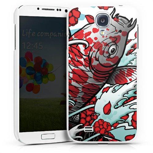 DeinDesign Hülle kompatibel mit Samsung Galaxy S4 Handyhülle Case Koi Karpfen Mai Koi Kunst