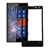 Ersatzglas Frontglas für Nokia Lumia 1020 LCD Display Glas Front Glass Scheibe Schwarz