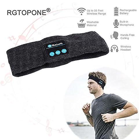 Sport Thèmes Costume Idées - RGTOPONE Unisexe Bluetooth Bande De Musique Rechargeable