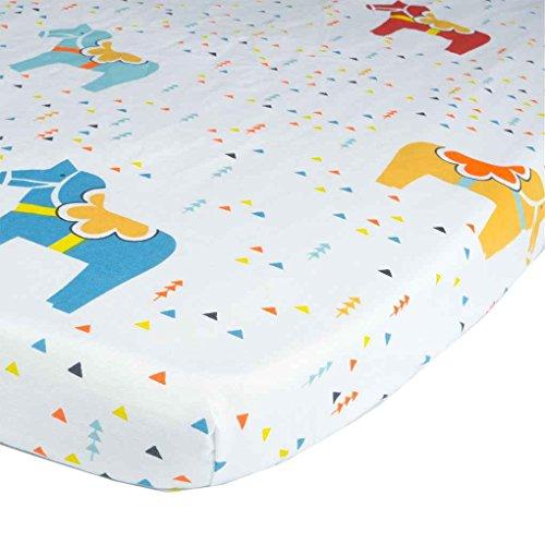 Coddington Baumwolle Krippe Blatt Baby-Bett-Matratze ausgestattet Abdeckung