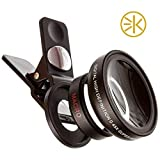 3keysTM iPhone Camera Lens 0.45X Super Wide Angle Lens & 12.5X Macro Lens