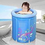 Thicker coton mélangé Adult Bath Tub65 * 65cm, 75 * 68cm ( taille : 65*65cm )