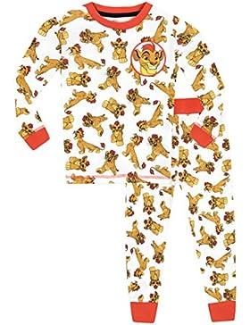 Disney Garde du Roi Lion - Pijama para Niños - Lion Guard Kion - Ajuste Ceñido