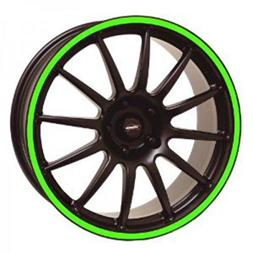 3MTM Moto-Bandas adhesivas de círculos 3MTMfluorescenti stripe for wheel rojo amarillo o...