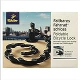TCM Tchibo Faltbares Fahrradschloss Kettenschloss Zusammenfaltbar